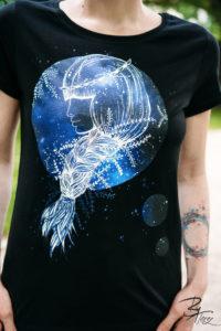 Designové triko s potiskem