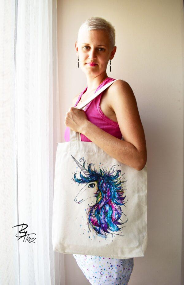 etická taška z bio bavlny by terez